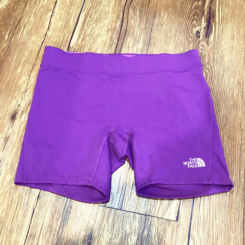 《全新》THE NORTH FACE 女 紫紅色訓練短褲 未拆標