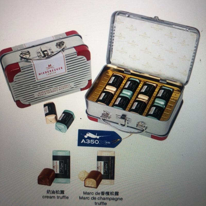 華航機上免稅 巧克力 NIEDEREGGER RIMOWA聯名巧克力