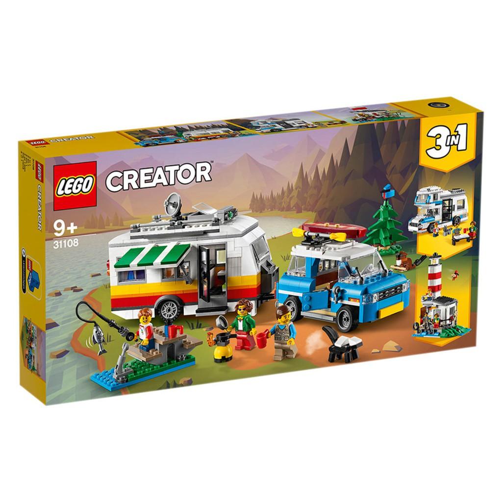 LEGO 樂高 31108 家庭假期露營車
