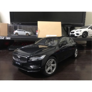 【E.M.C】1:18 1/ 18 Volvo S90 模型車 白色/ 黑色 台南市