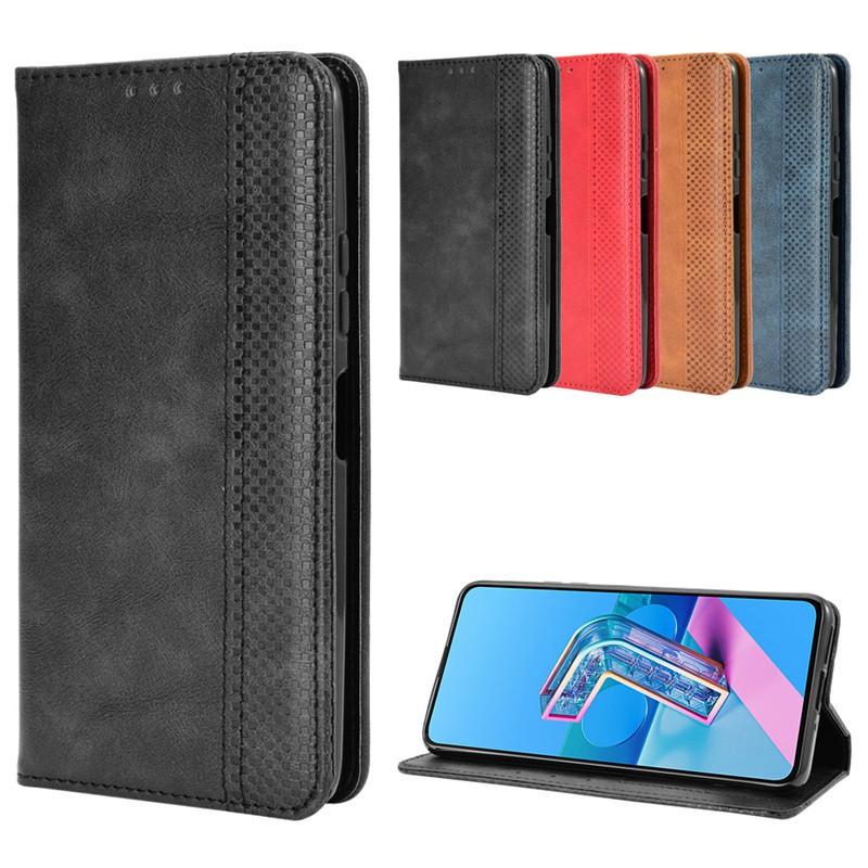 ASUS ZenFone7 手機殼 掀蓋殼 插卡 磁吸ZS670KS保護殼 ZS670KS 手機殼
