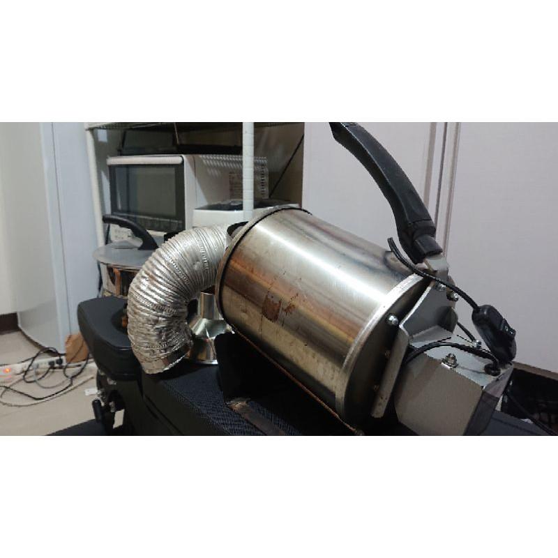 RF300 直火 瓦斯烘豆機 + 散熱器