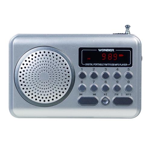 WONDER WS-P006 USB/MP3/FM 隨身音響-