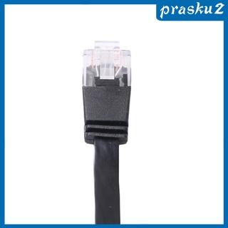 [Prasku2] Cat6 伸縮以太網網絡跳線 10 /  100 /  1000 Mbps-3.3 英尺