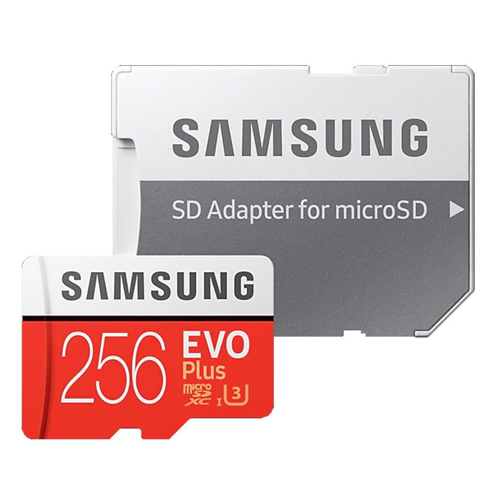 SAMSUNG 三星 256GB EVO Plus microSDXC TF U3 記憶卡 256G 台灣三星
