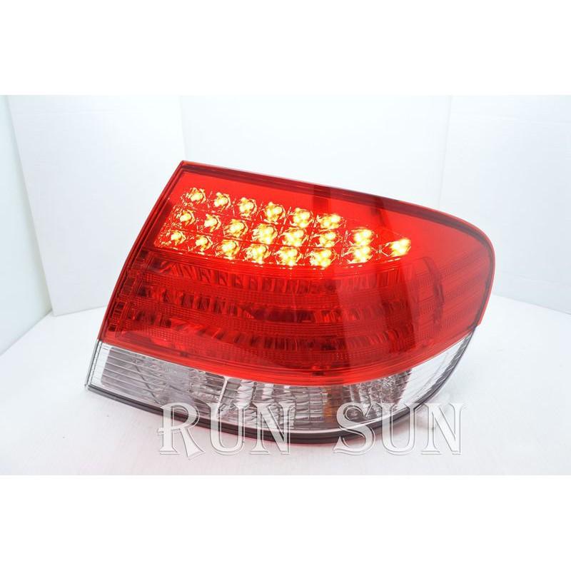●○RUN SUN 車燈,車材○● 全新 三菱 05 06 07 08 GRUNDER 正廠 LED晶鑽紅白 尾燈 一顆