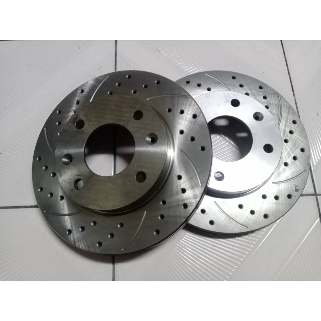 速霸陸 SUBARU IMPREZA 99- 後 煞車盤 後盤 剎車盤 碟盤 劃線盤 鑽孔劃線盤 一組2片