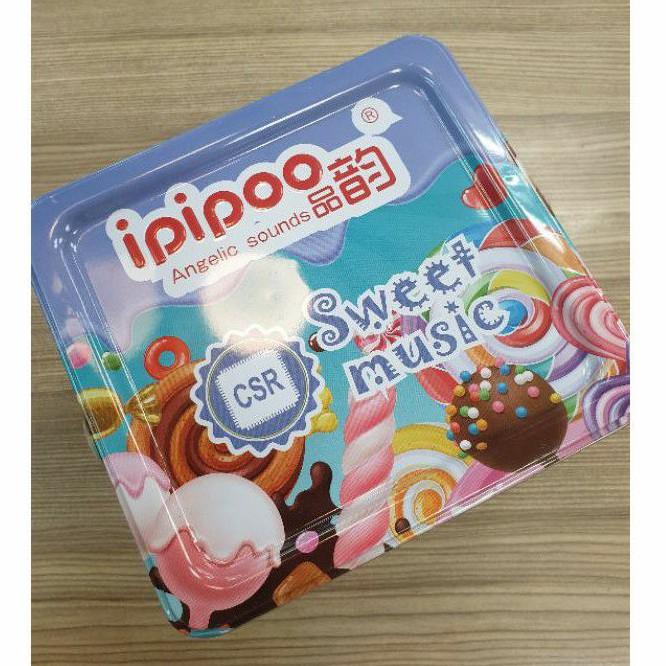 品韵 ipipoo E6 無線 運動藍芽耳機 頸掛式(全新未拆封)_方盒