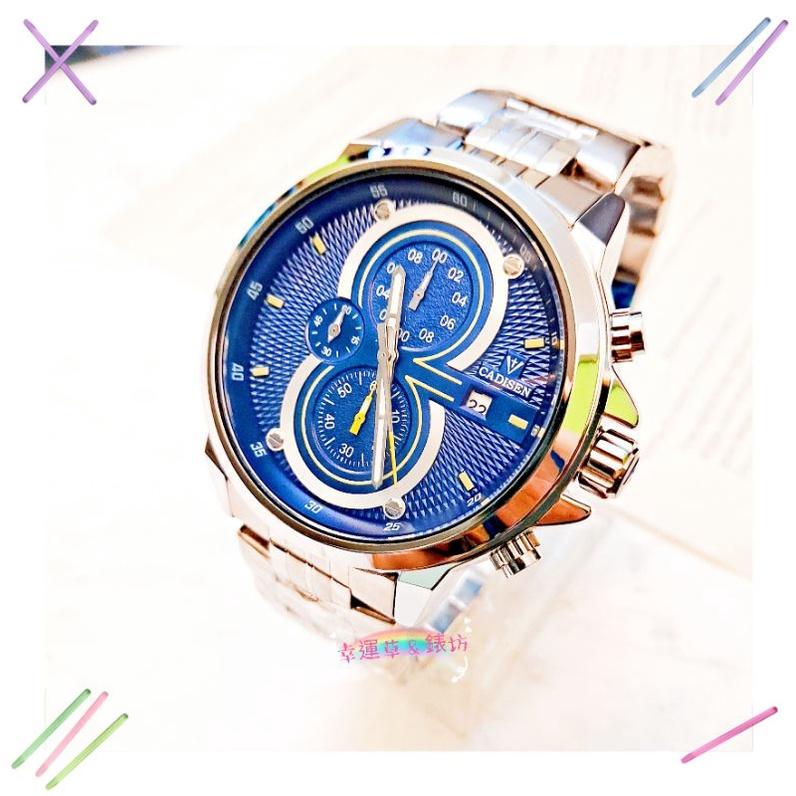 LONGBO龍波錶/CHENXI晨曦錶 日期 夜光 仿勞力士水鬼錶(現貨)時尚錶 簡約腕錶 男錶/中性錶/學生錶不銹鋼帶