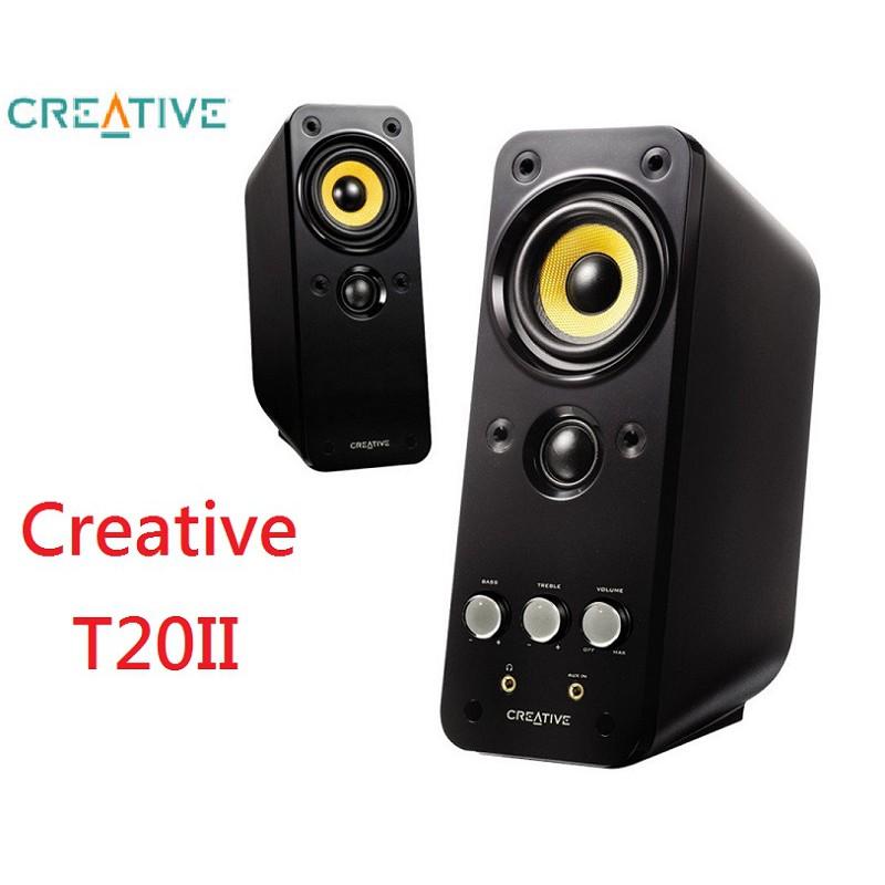 【台灣公司貨】下殺促銷 創新未來 Creative GigaWorks T20II 兩件式喇叭T20 Series II