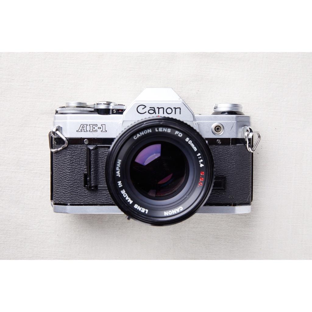 【森寫真機店】Canon AE-1 銀 #697+FD s.s.c 50mm f1.4