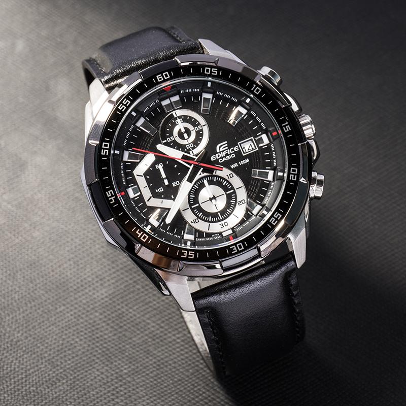 【窮玩車富玩錶】卡西歐手錶男黑暗之心限量海洋之心非機械石英錶EFR-539L-1A