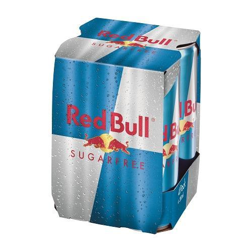 紅牛無糖能量飲料250ml*4【愛買】