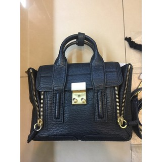 3.1 Phillip Lim Pashli mini satchel 黑金(二手) 新北市
