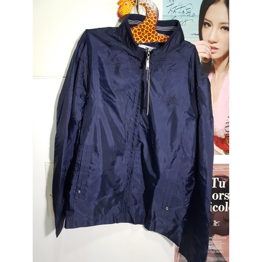 [全新] 男版海軍藍 PIERRE BALMAIN 風衣外套