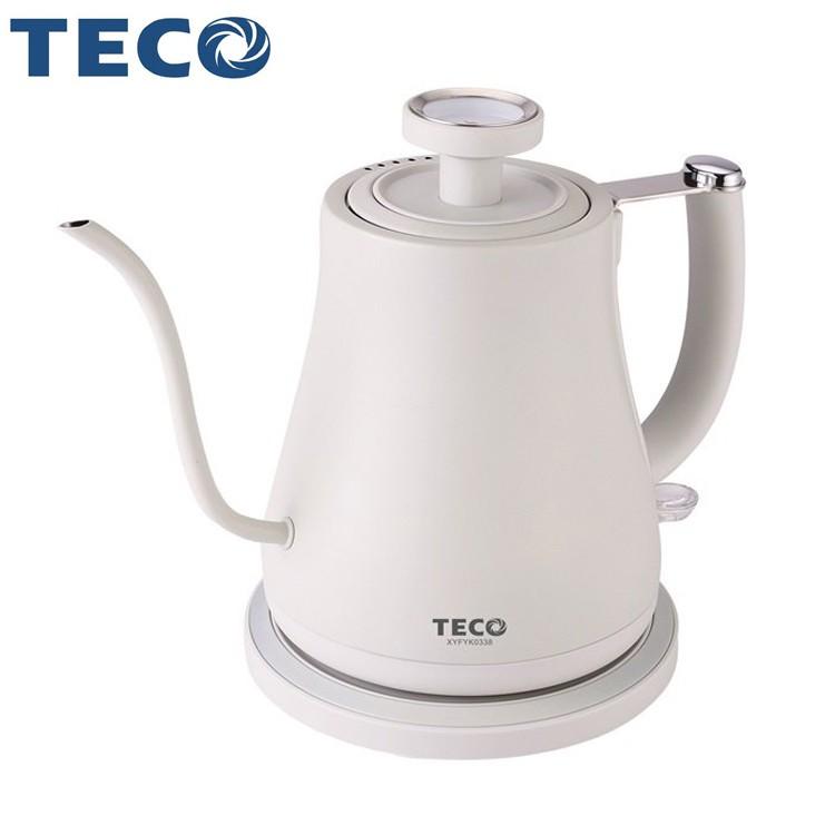 TECO東元 304不鏽鋼手沖咖啡快煮壺 XYFYK0338