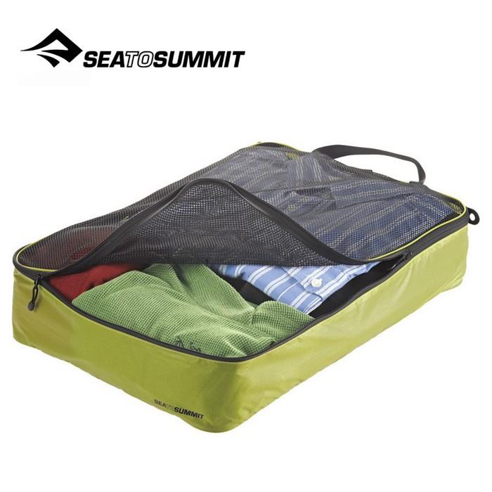 【Sea To Summit 澳洲】旅行打理包 衣物打理包【L號】萊姆綠/淺灰 (ATLGMBL)