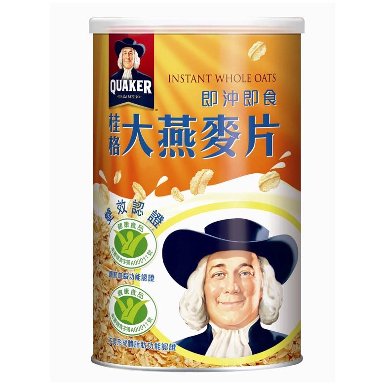桂格 即沖即食大燕麥片(1100g/罐)[大買家]