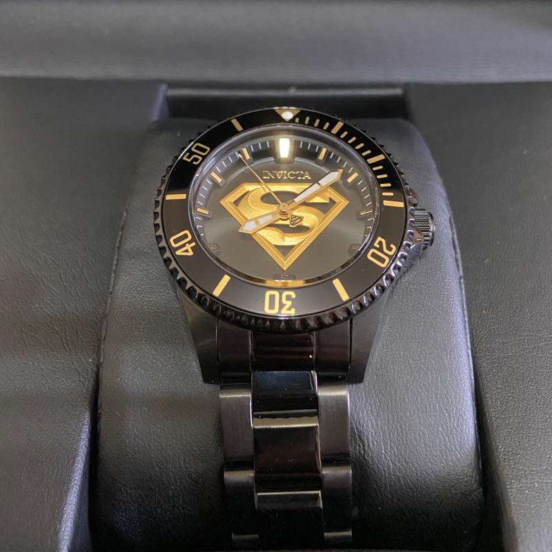 限量INVICTA超人系列黑金錶