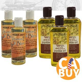 《加州BUY》Trader Joe's Vitamin E 維他命E油 100% JoJoba Oil 純 荷荷巴油 新北市