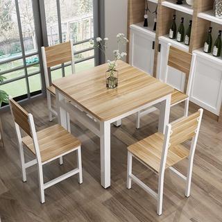 桌椅戶外☽家用餐桌椅組合四方桌吃飯桌四方桌小戶型飯店快餐桌椅簡約餐桌椅 嘉義市