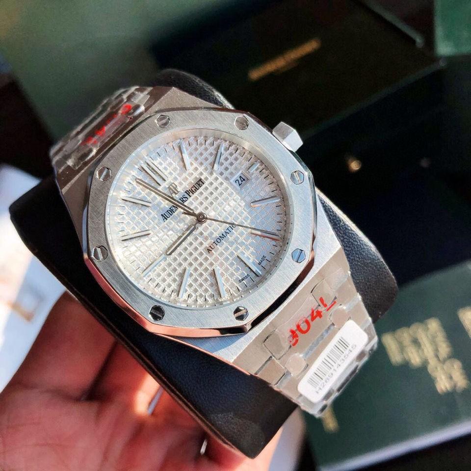 新記15400ST全自動機械手表 運動風時尚男士手表 強夜光精鋼藍寶石