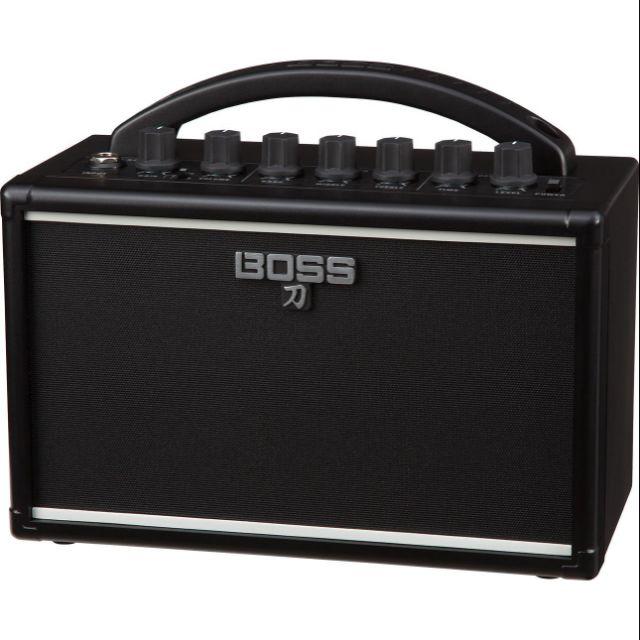 ♪吉他狂想♪ Boss Katana-Mini 刀 7W 迷你電吉他音箱