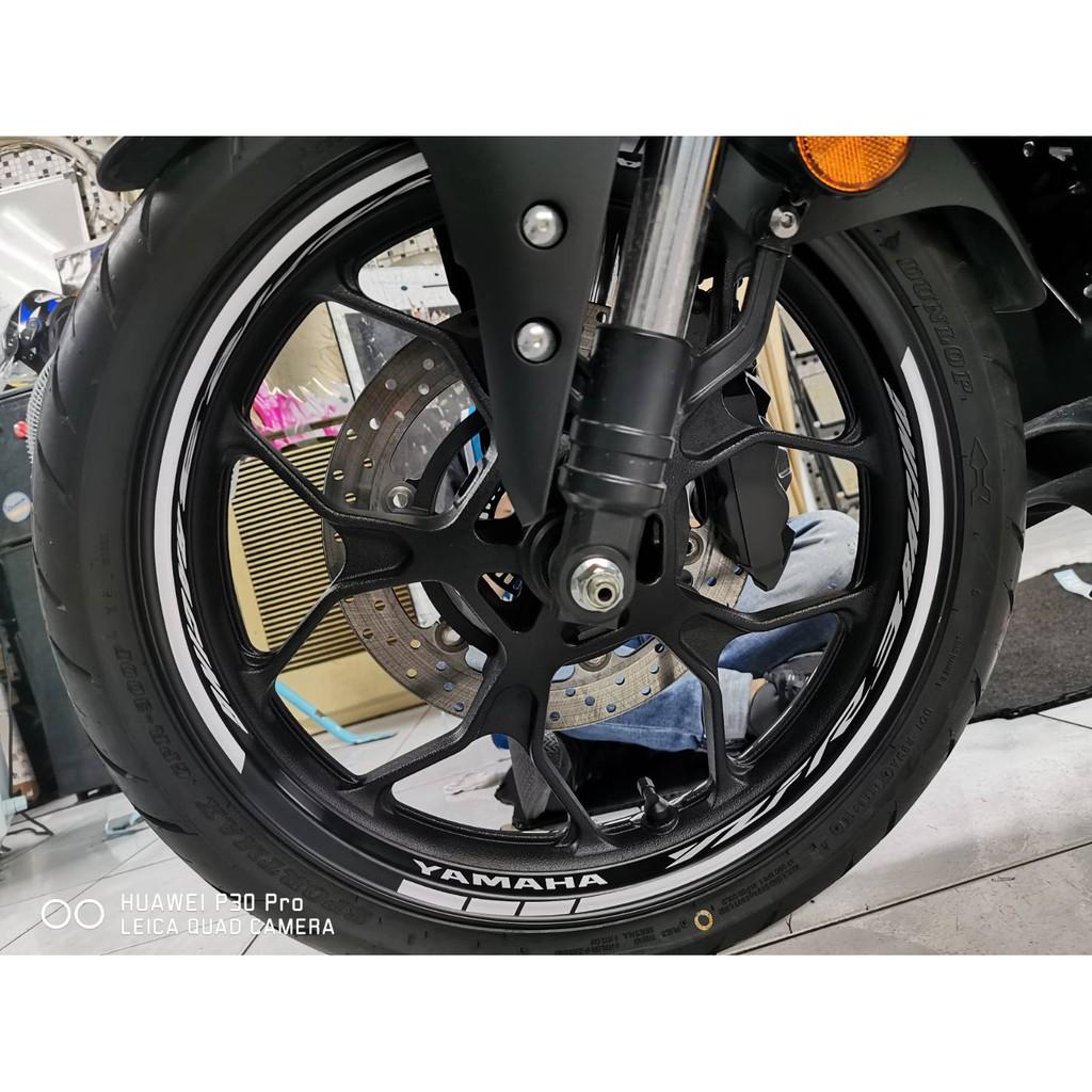 波仕特彩貼 YAMAHA R3 輪圈貼 進口紙 包膜 貼膜 客製化彩貼 保護貼