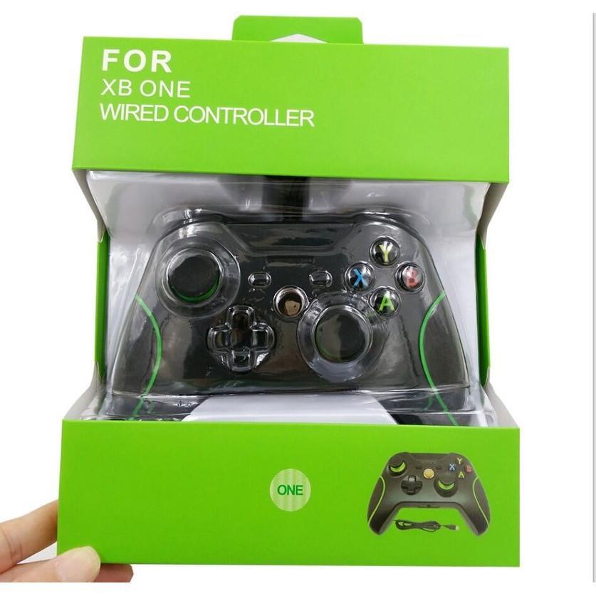 #全新盒裝 XBOX ONE 手把 XBOX ONE 有線游戲手柄 Xbox游戲控制器 雙震動 副廠