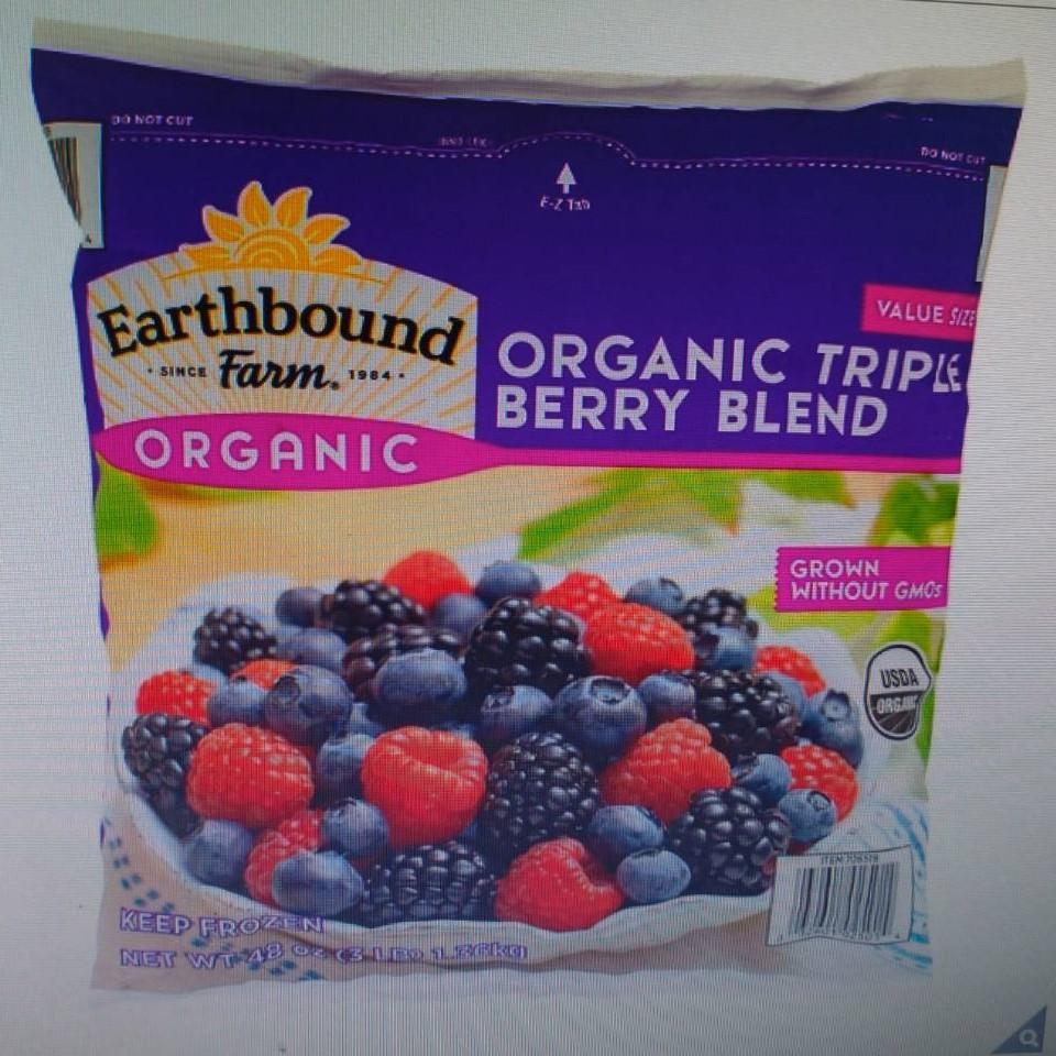 好市多冷凍有機三種綜合莓(雙包免運)