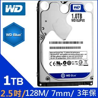 【MR3C】含稅附發票 WD威騰 1T 1TB WD10SPZX 藍標 SATA硬碟 7mm (三年保固) 新竹市