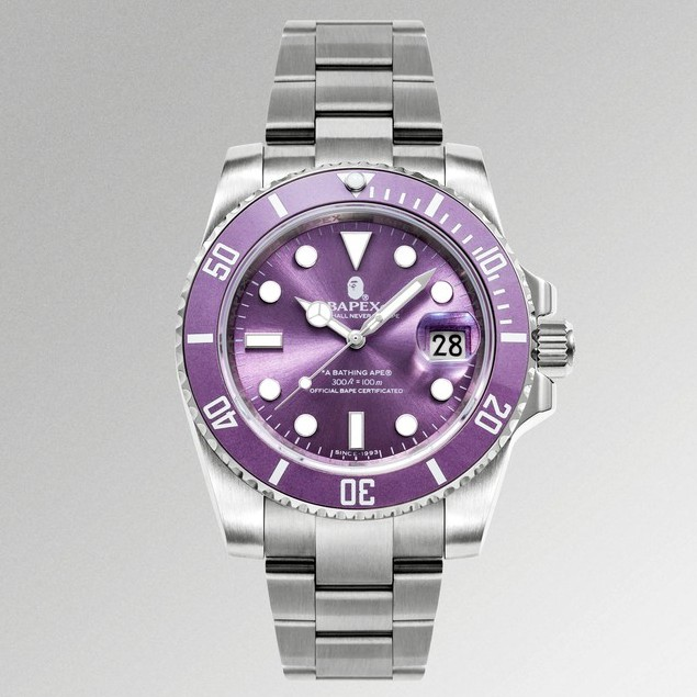 預購 BAPE 自製 史上最高質感手錶 BAPEX TYPE 1 WATCHES