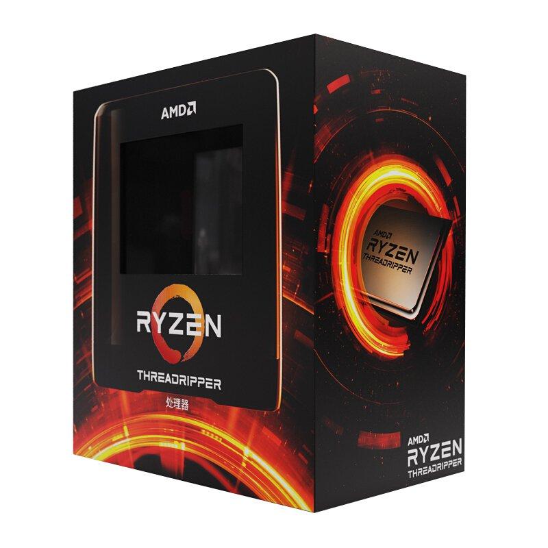 AMD 銳龍Threadripper(線程撕裂者) 3960X 處理器 (tr)7nm 24核48線程 3.8GHz 2
