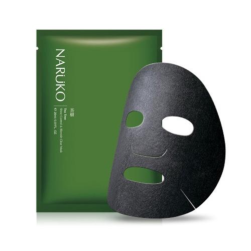 NARUKO 茶樹神奇痘痘黑面膜(8片入)【小三美日】D265098