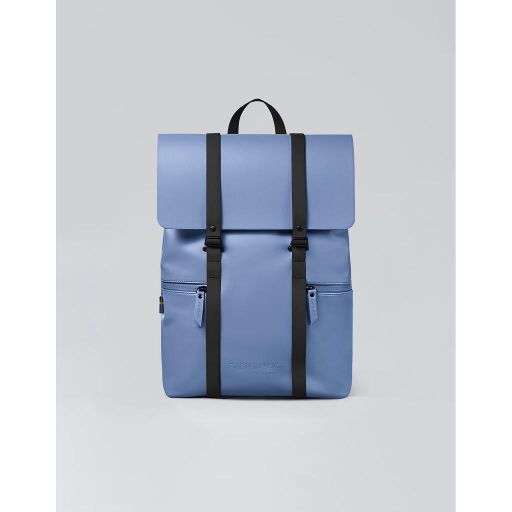 Gaston Luga 瑞典品牌 - Splash 13吋防水後背包 - 冰藍色(台灣公司貨)