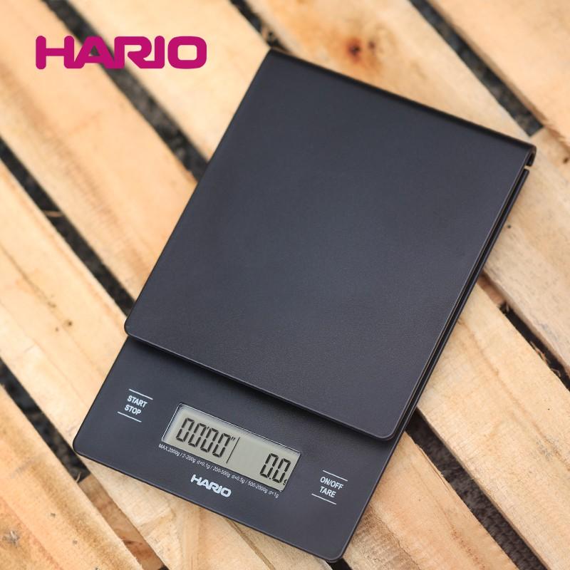 日本Hario手沖咖啡電子稱 精準多功能V60計時電子秤 VST2000B