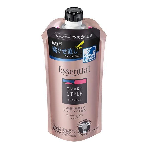 逸萱秀Essential Smart系列 抑制亂翹 洗髮精 補充包 340ml J839334