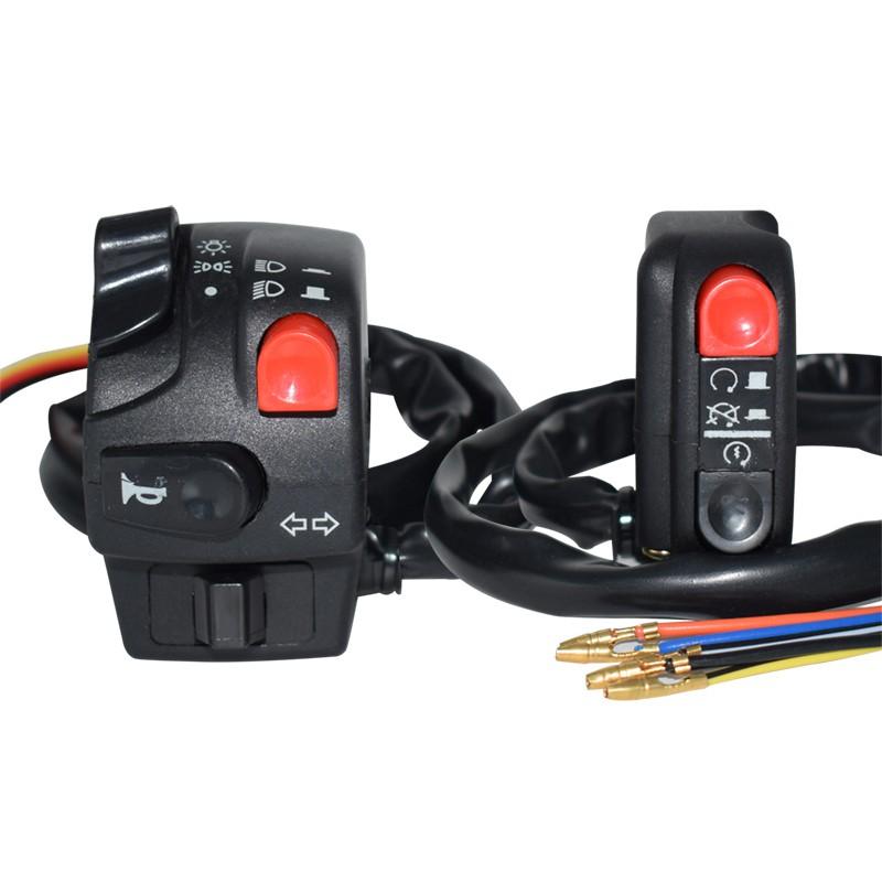 Yamaha 山葉 機車 BWS 125 手把開關 六合一開關 按鈕式啟動開關 pass燈 超車 警示燈 方向燈