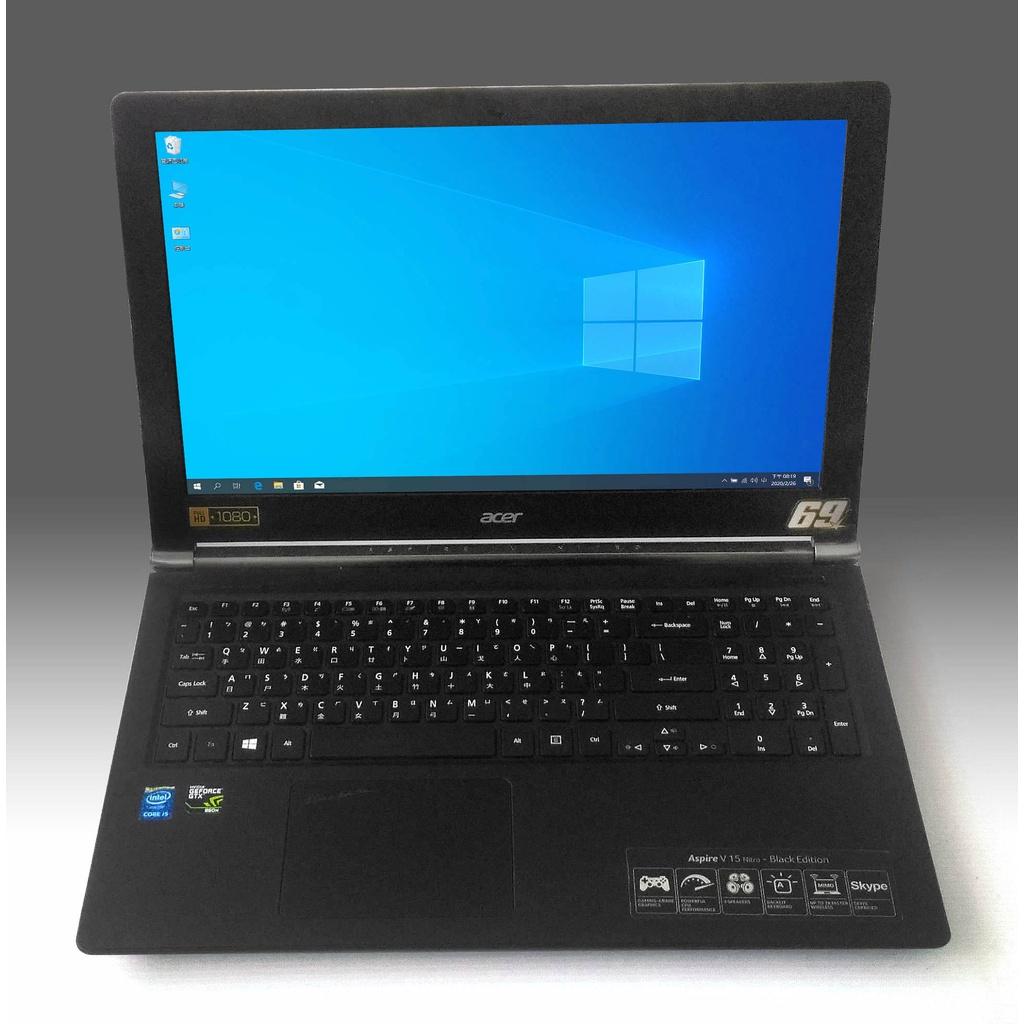 Acer VN7-591G電競筆電/i5-4210H/GTX960M/M2 128G+750/8G /1080P/看說明