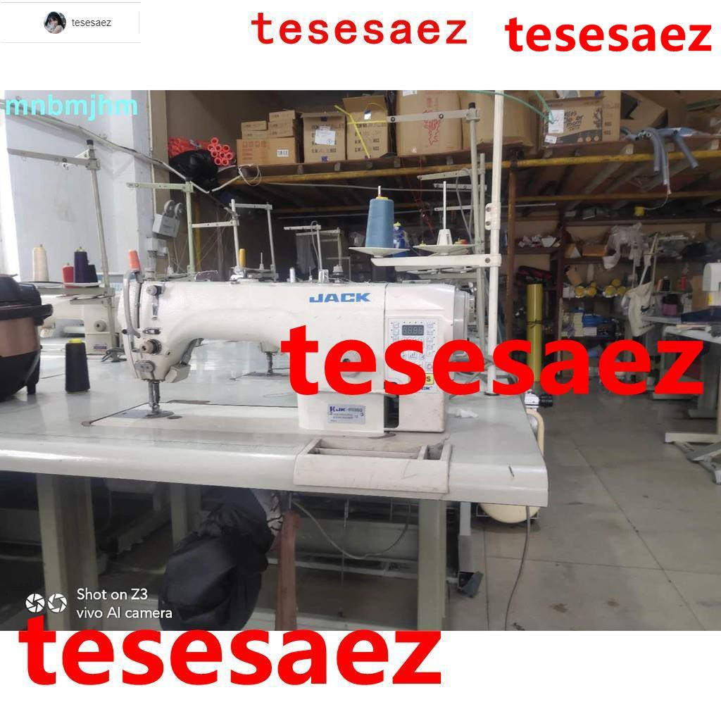 爆款#二手工業家用電腦平車縫紉機中捷 杰克 標準國產進口平縫機