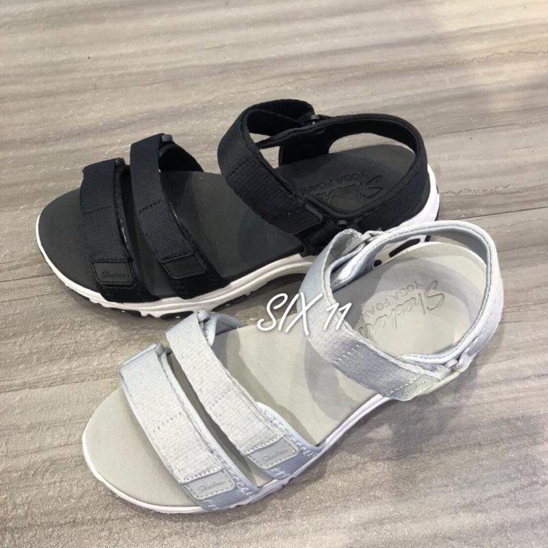 @SIX@SKECHERS DLITES 涼鞋 灰31514GRY/黑31514BLK
