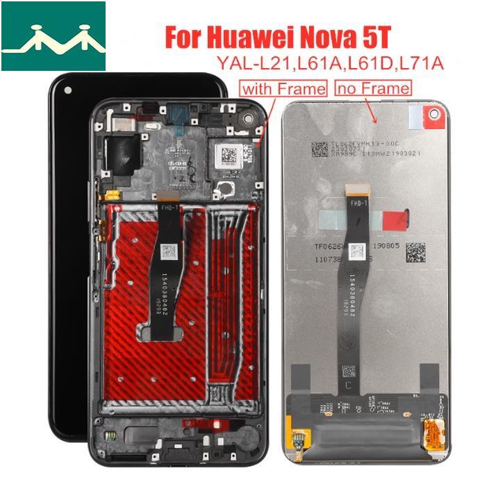 """【現貨速發】原廠6.26""""手機螢幕總成華爲Huawei Nova 5T Honor 20 YAL-L❤珂珂雜貨鋪❤"""