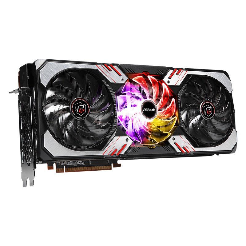 精品數碼~華擎RX6800XT/6900XT顯卡非公版AMD獨顯公版冷另有3080TI海外現貨570