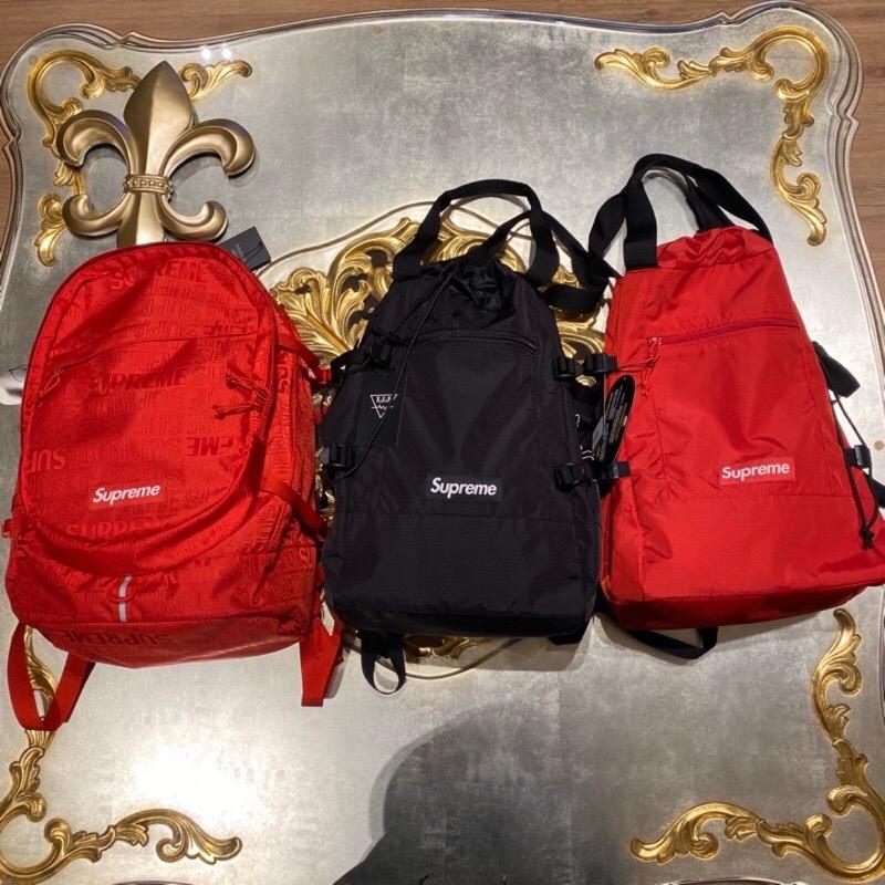 Supreme 滿版 2用式 手拿/後背 後背包 全新正品 美國直營店購入