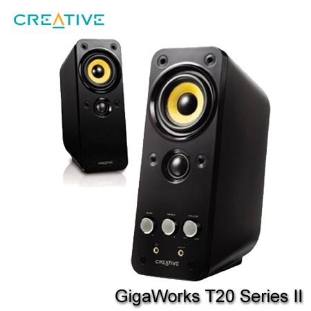 【MR3C】限量 含稅 CREATIVE GigaWorks T20 Series II 二件式2.0喇叭