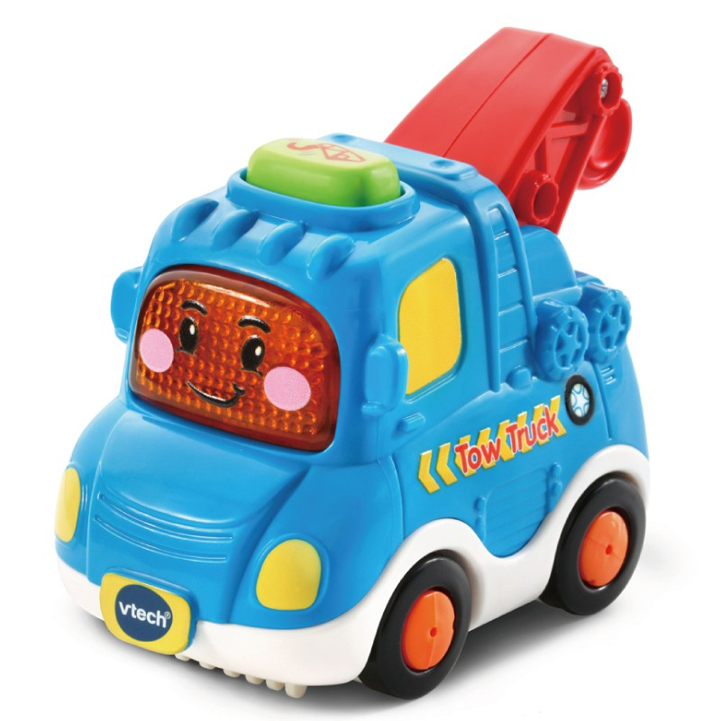 VTECH 嘟嘟聲光互動車-吊車 玩具反斗城