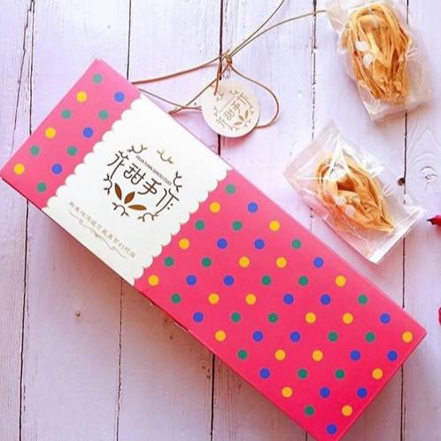 【97商城】花甜手作 水滴蛋捲 任選3盒 (原味/芝麻/青蔥/花生)