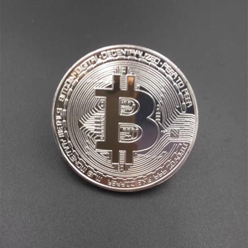 現貨【紀念幣】比特幣 比特 虛擬幣 收藏 bitcoin 紀念幣 乙太 萊特 送禮 生日 紀念 派對 貨幣 過年