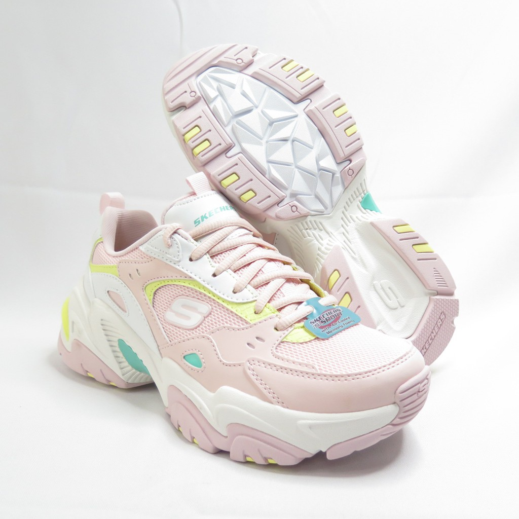 Skechers STAMINA V2-THE RISE UP 女款 休閒鞋 149510PKMT 淺粉【iSport】