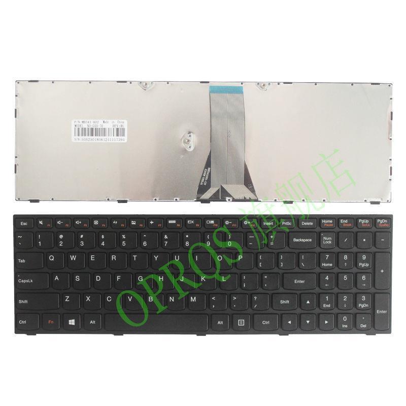 ₪❀✓適用於 Lenovo ideapad 300-15ISK 鍵盤 300-15IBR 300-17ISK 鍵盤